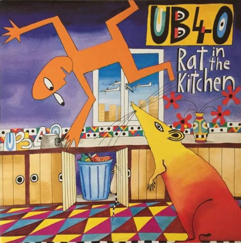 UB40 ‎- Rat In The Kitchen (LP) (VG-/VG)